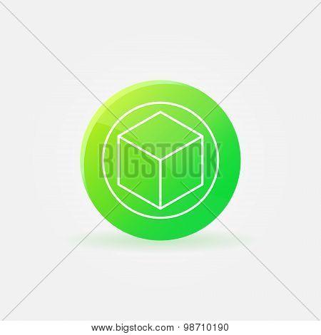 3D printer logo or icon