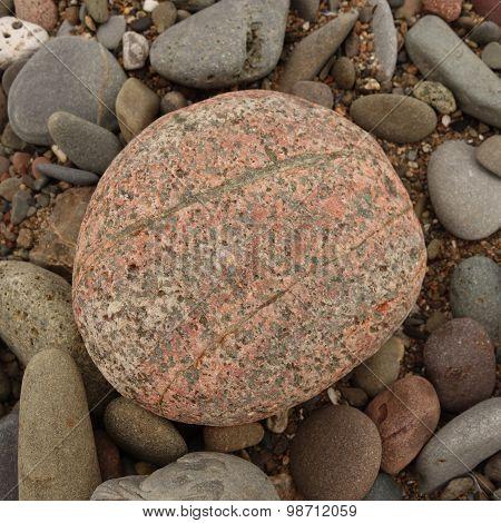 Large Pink Pebble
