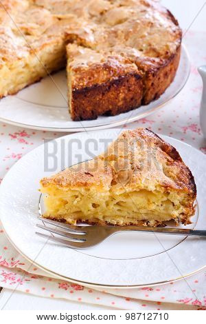 Slice Of Irish Apple Cake