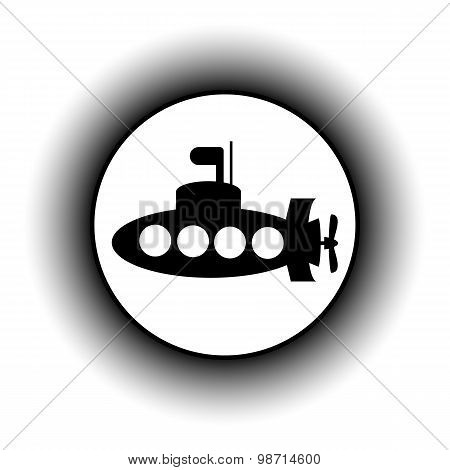 Submarine Icon.