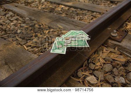 Financial rails, money