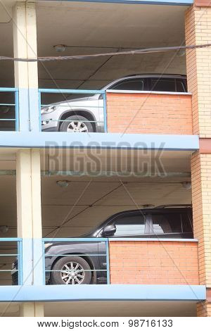 Multi storey car parking