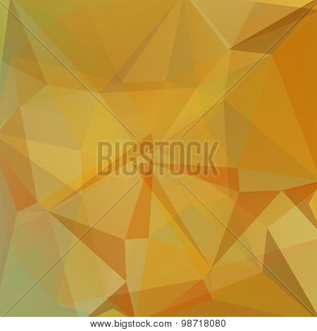 abstract background consisting of triangles, vector illustration