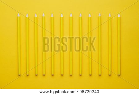 Yellow Crayons