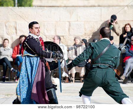 Tourney In The Castle  St. Johns Cavalier, Malta