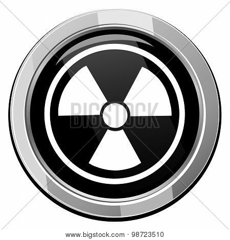 Radioactive Vector Icon