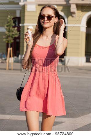 Ice Cream Refreshment.