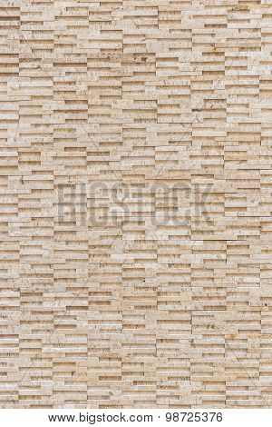 Pattern Of Yellow Travertine Wall Texture