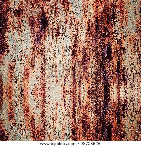 rusty iron sheet texture
