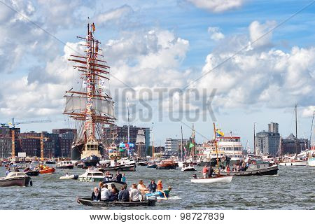 The Russian Sts Sedov Tall Ship