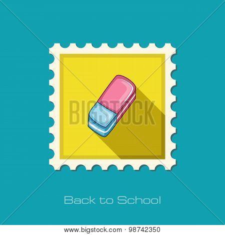 Eraser Flat Stamp