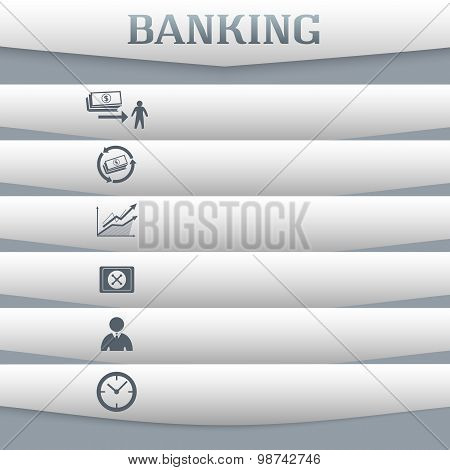 Banking-concept-on-gray-background-with-a-card-icon