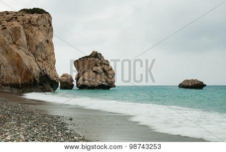 Rock Of Aphrodite, Paphos, Cyprus