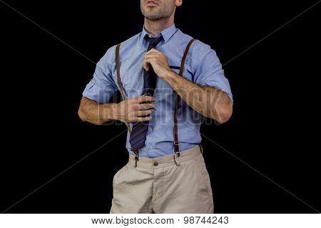 Man suspenders