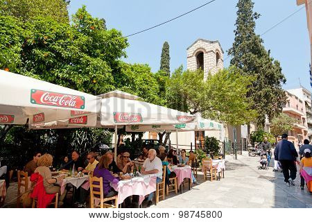 Summer Day In Athens
