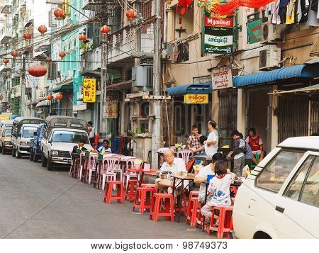 Chinese Quarter, Yangon