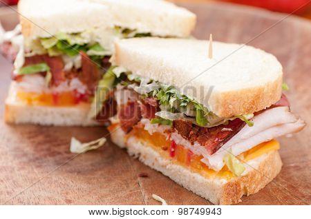 Bacon Turkey Sandwich