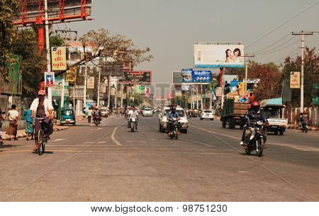 Mandalay Streets