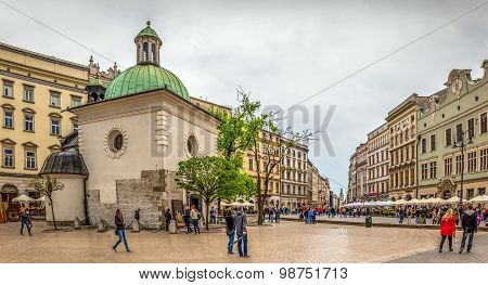 St. Adalbert Church In Cracow, Poland