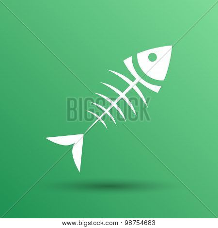 fish menu vector design template logo icon