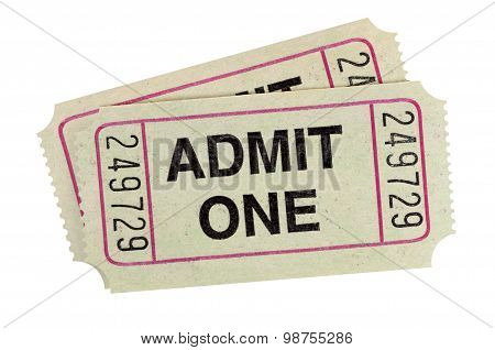 Gray Admission Tickets