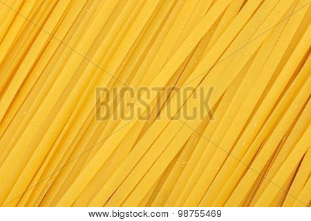 Linguine pasta background