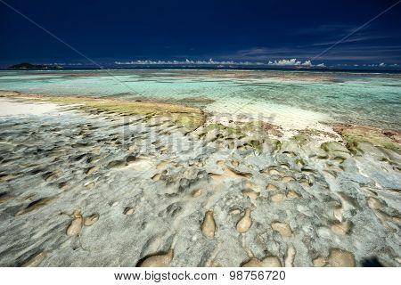 Rocky Caribbean Shoreline