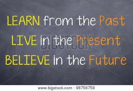 Learn Live and Believe