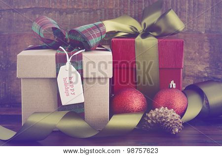 Vintage Style Christmas Gifts