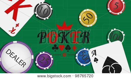 Poker Background 04