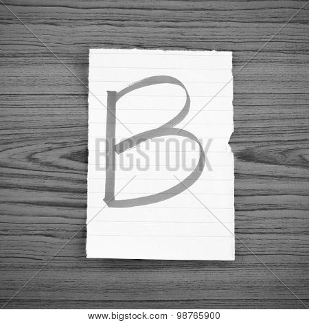 Grade B Black And White Color Tone Style