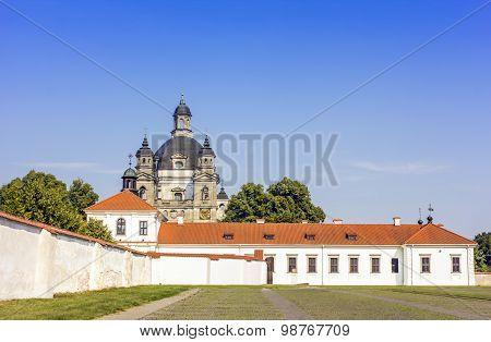 Baroque Church And Monastery