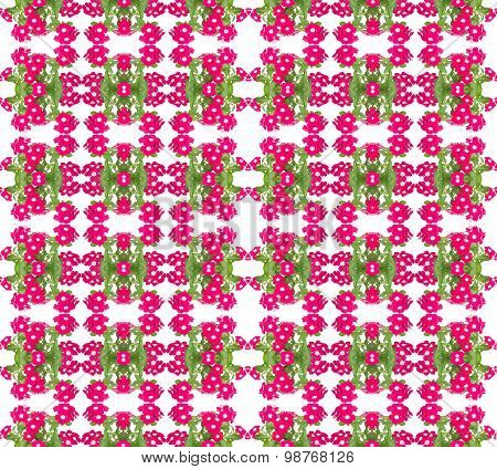 Periwinkle Seamless Pattern Background