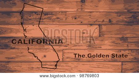California Map Brand