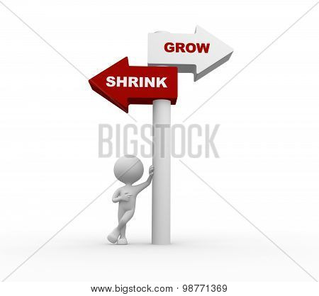 Grow Vs Shrink
