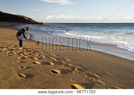Bells Beach Surfer