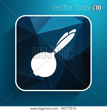 bulb onion isolated Abstract design logo art