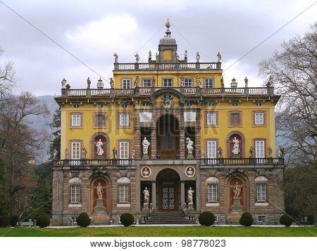 The Italian Torrigiani estate in Italy