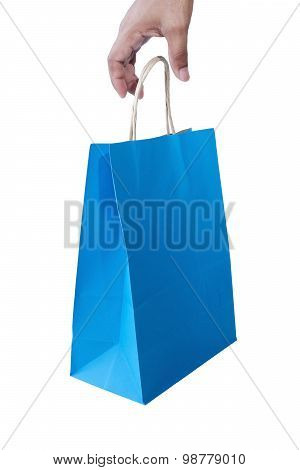 Hand And Shopping Bag