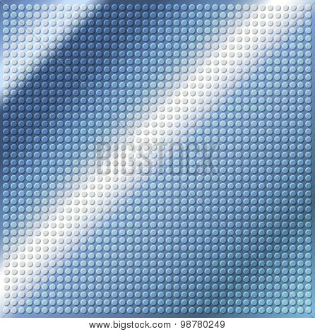 Blue Embossing Metallic Circle Background