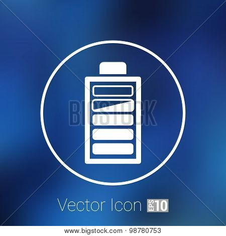 icon vector power load sign symbol supply level