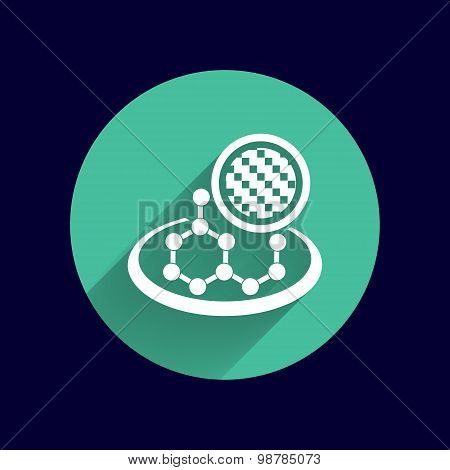 carbon organic element molecule science background
