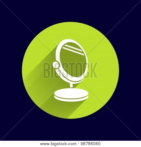 mirror icon vector isolated view sign symbol
