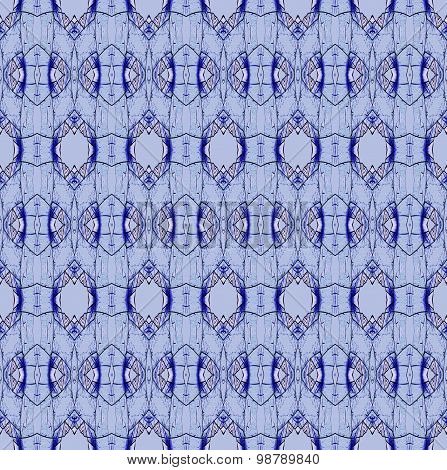 Seamless diamond pattern blue pink
