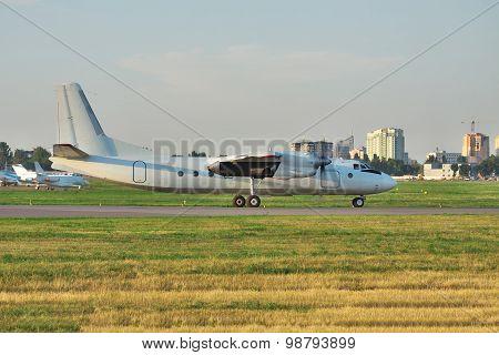 Propeller Passenger Plane