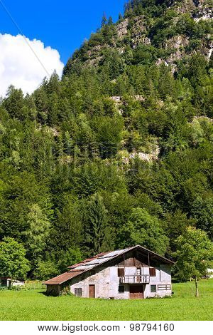 Typical Old Farmhouse - Trentino Italy