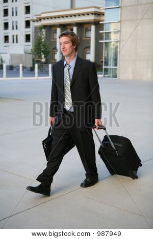 Travelling Business Man