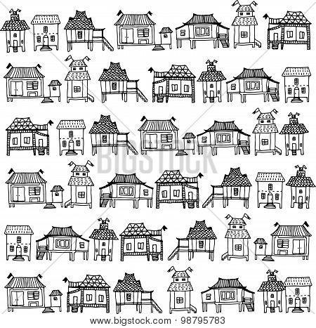 Thai Style Houses