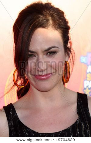 LOS ANGELES - AUGUST 2:  Maggie Siff  arrives at the 2010 FOX Summer Press Tour Party at Pacific Park on the Santa Monica Pier on August 2, 2010 in Santa Monica, CA