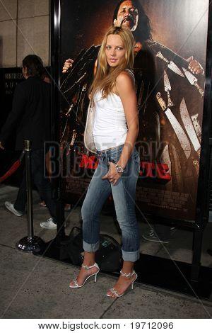 LOS ANGELES - AUG 25:  Natasha Alum arrives at the
